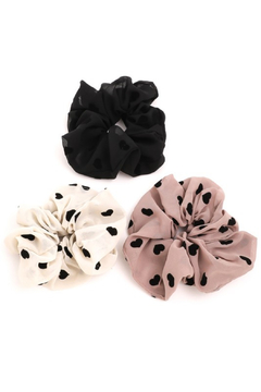 FAME ACCESORIES Heart Scrunchies - Product List Image