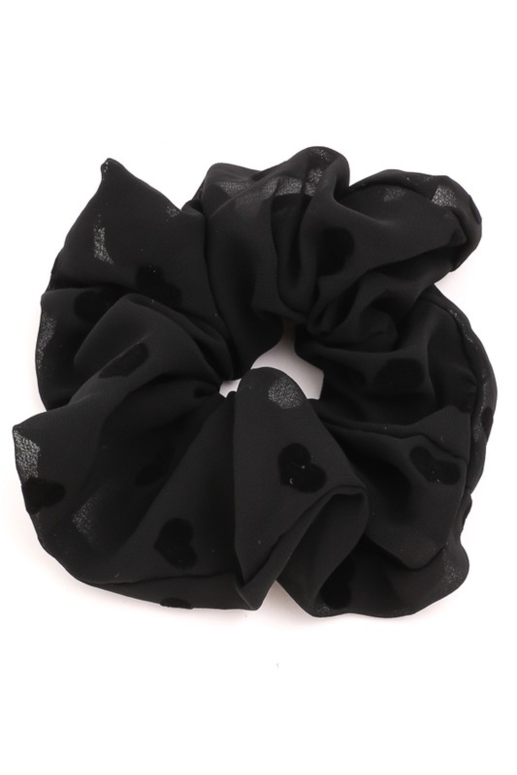 FAME ACCESORIES Heart Scrunchies - Side Cropped Image