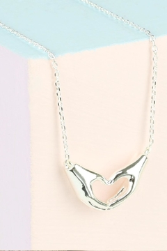 Pink Poodle Boutique Heart Shaped Necklace - Alternate List Image