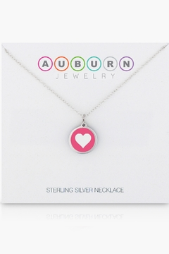 Auburn Jewelry Heart Silver Pendant - Mini - Alternate List Image