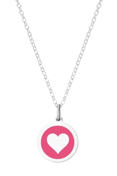 Auburn Jewelry Heart Silver Pendant - Mini - Product List Image
