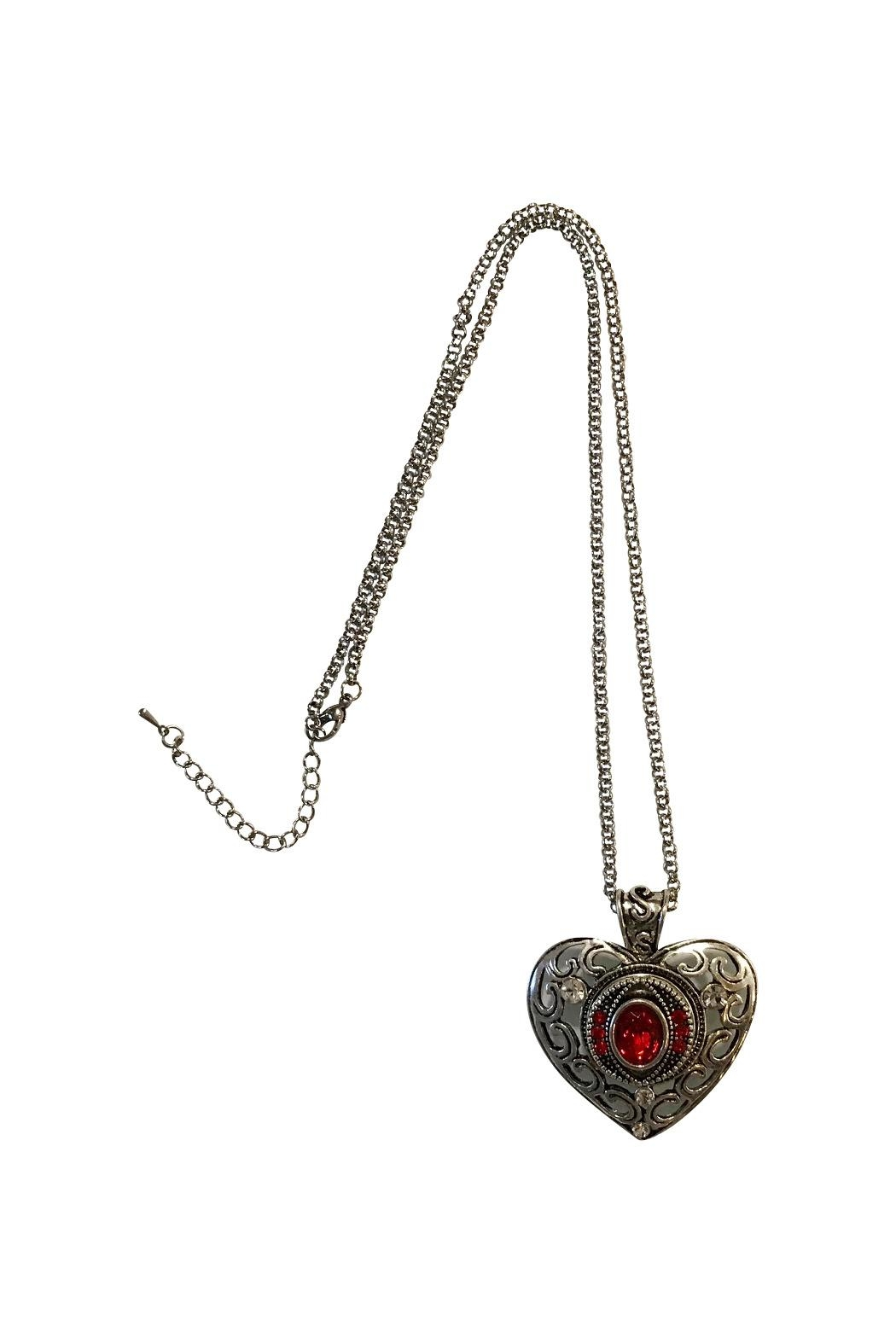 House and Garden Boutique Heart Snap Necklace - Main Image