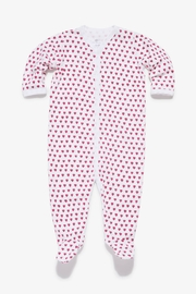 Roberta Roller Rabbit Heart Snap Suit - Front cropped