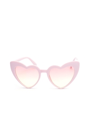 Ocean and Land Heart Sunglasses - Product Mini Image