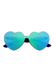 Sunny Life Heart Sunnies Midnight Iridescent Sunglasses - Product Mini Image
