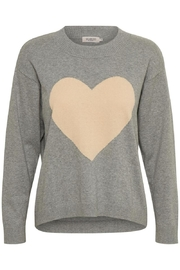 Soaked in Luxury Heart Sweater - Product Mini Image