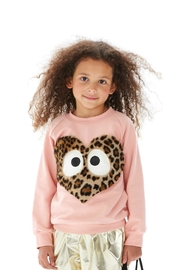 Bang Bang Copenhagen Heart Sweater - Front full body
