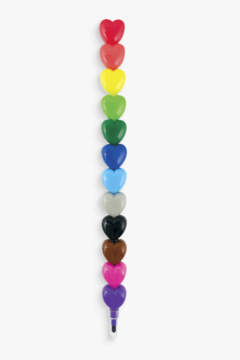 Ooly Heart to Heart Stacking Crayons - Product List Image
