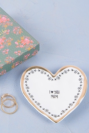 Natural Life Heart Trinket Dish - Product Mini Image