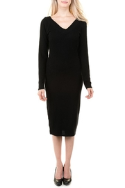 Heart & Hips Bodycon Sweater Dress - Front cropped