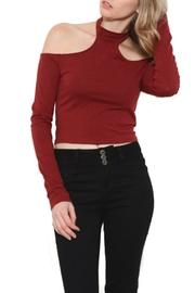 Heart & Hips Choker Crop Top - Product Mini Image