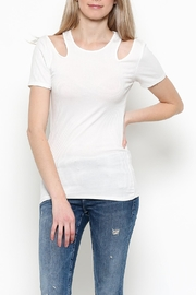 Heart & Hips Cold Shoulder Top - Front full body