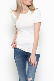 Heart & Hips Cold Shoulder Top - Product Mini Image
