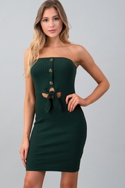 Heart & Hips Front Button Dress - Product Mini Image
