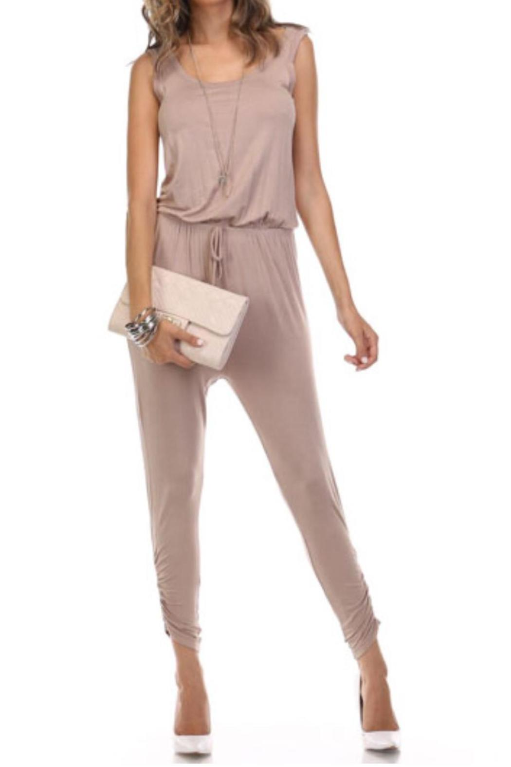 Heart U0026 Hips Solid Capri Jumpsuit From California By Last Call Fashion U2014 Shoptiques