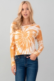 Heart & Hips Tie Dye Top - Front cropped