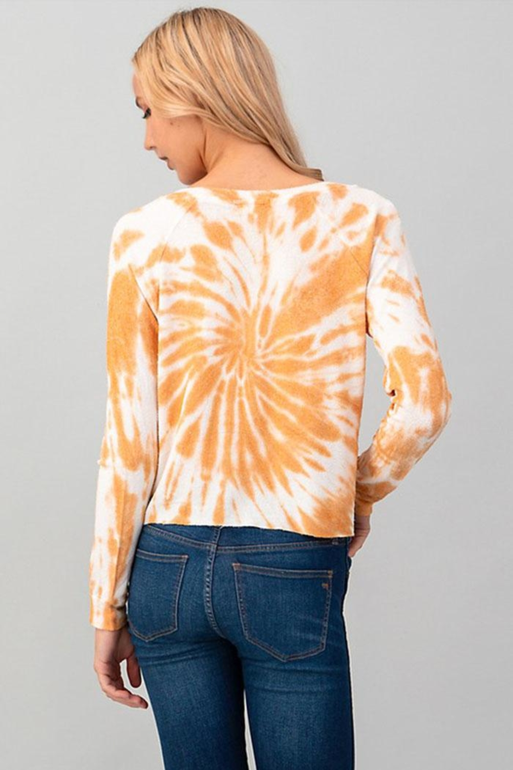 Heart & Hips Tie Dye Top - Front Full Image