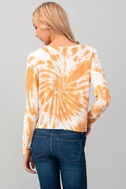 Heart & Hips Tie Dye Top - Front full body