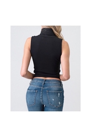 Heart & Hips Turtle Neck Top - Front full body