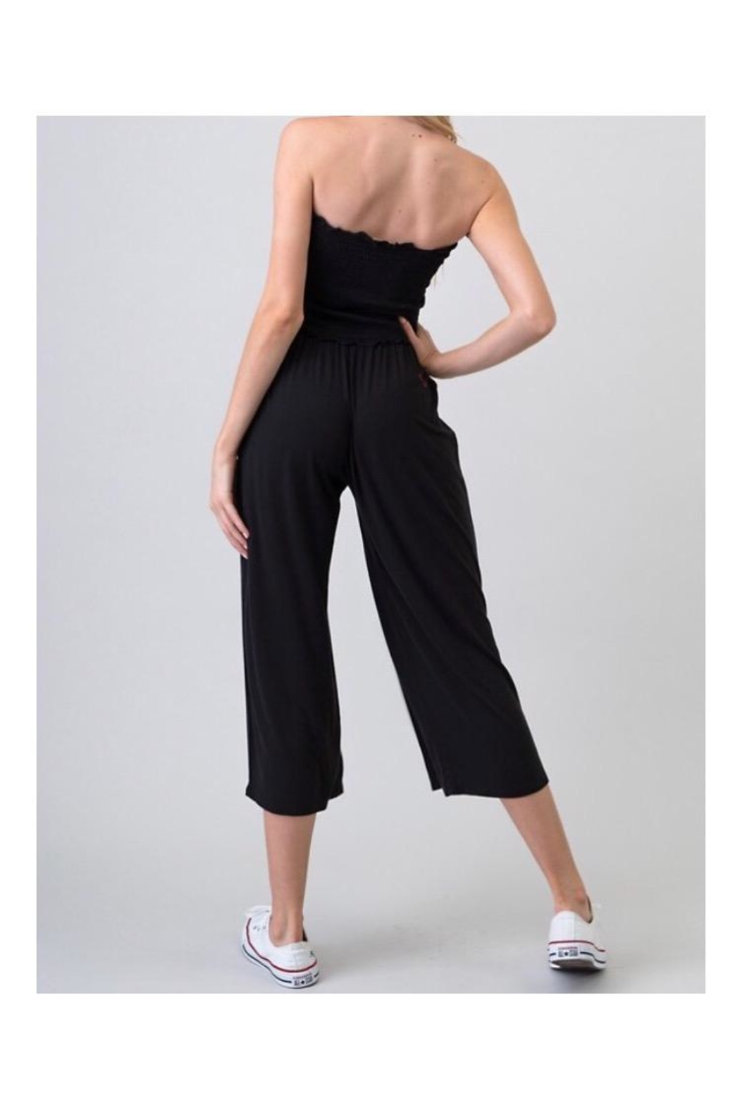 Heart & Hips Wide Pants Jumpsuit - Front Full Image