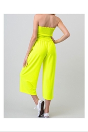 Heart & Hips Wide Pants Jumpsuit - Front full body