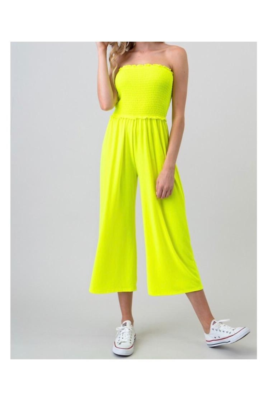 Heart & Hips Wide Pants Jumpsuit - Main Image