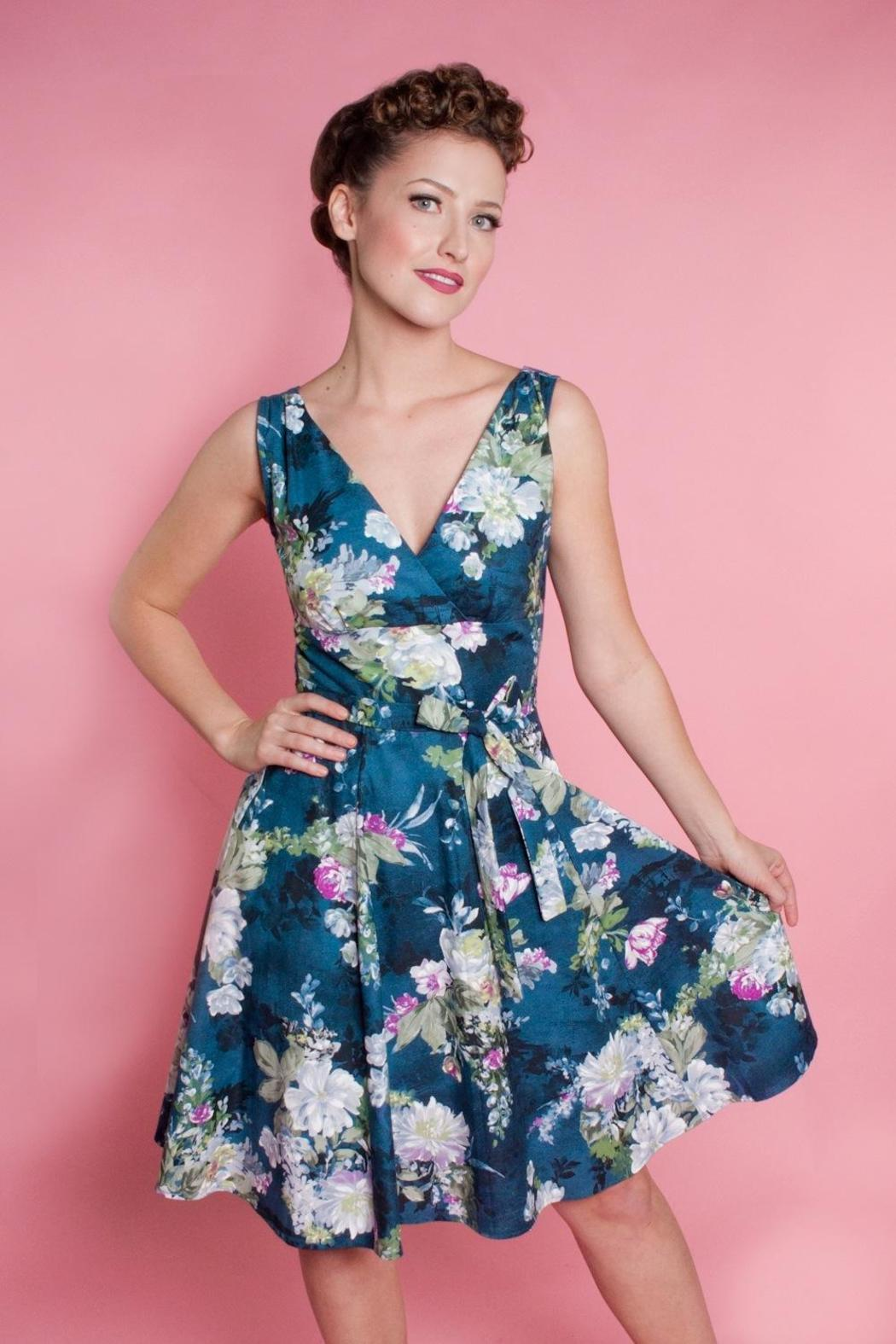 Heart Of Haute River Blossom Dress - Side Cropped Image