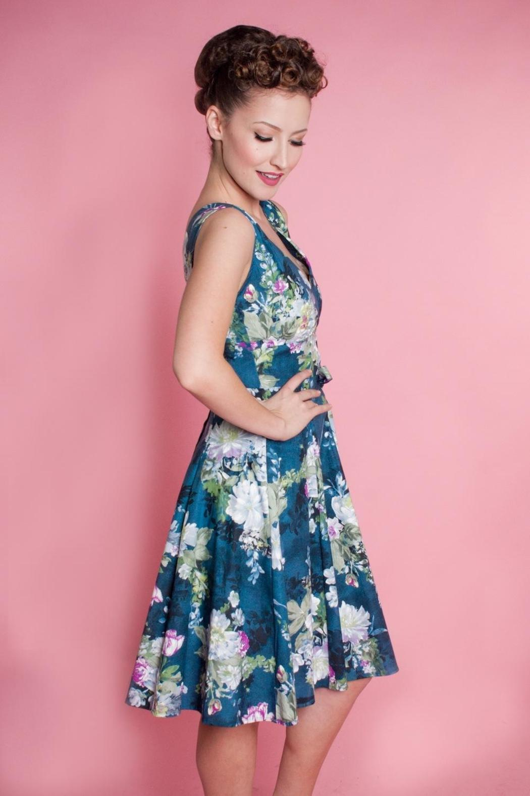 Heart Of Haute River Blossom Dress - Front Full Image