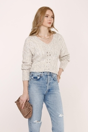 Heartloom Acadia Sweater - Feather - Front full body