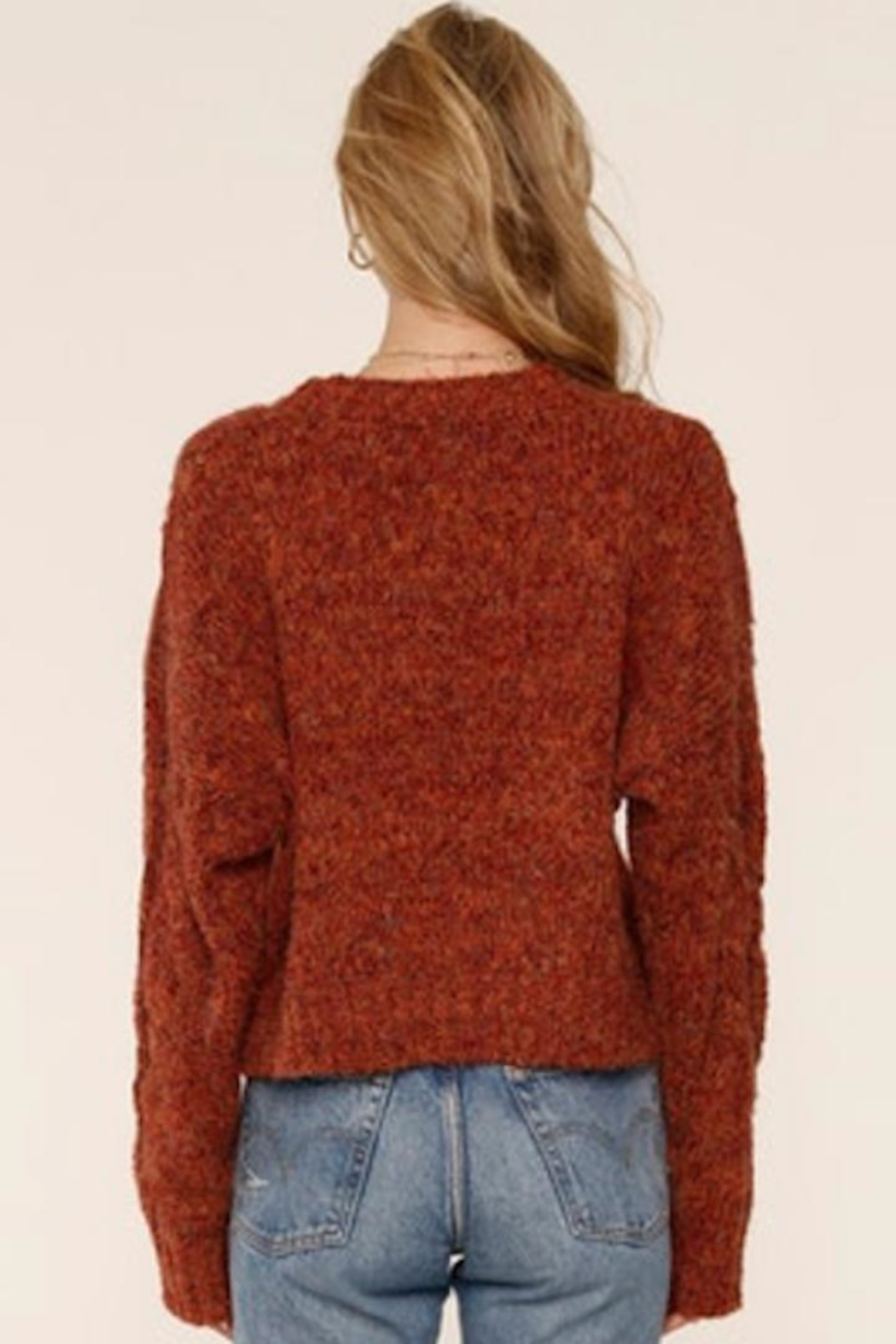 Heartloom Autumn Knit Sweater - Front Full Image