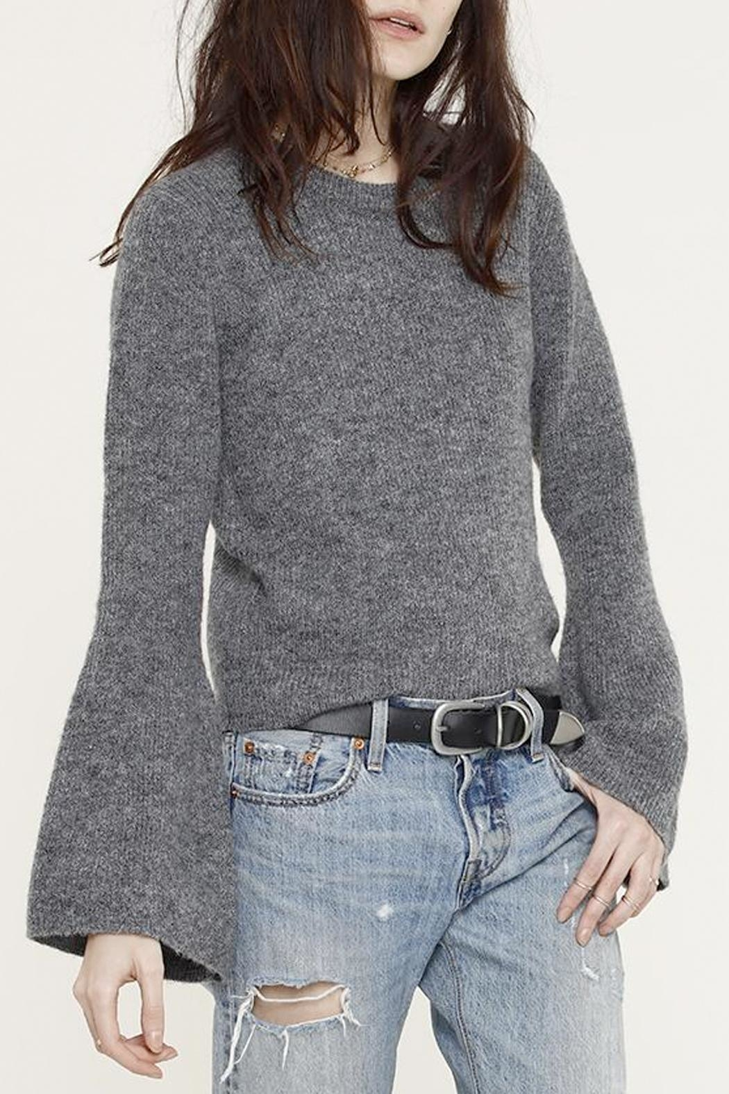 Heartloom Bell Sleeve Sweater - Front Cropped Image