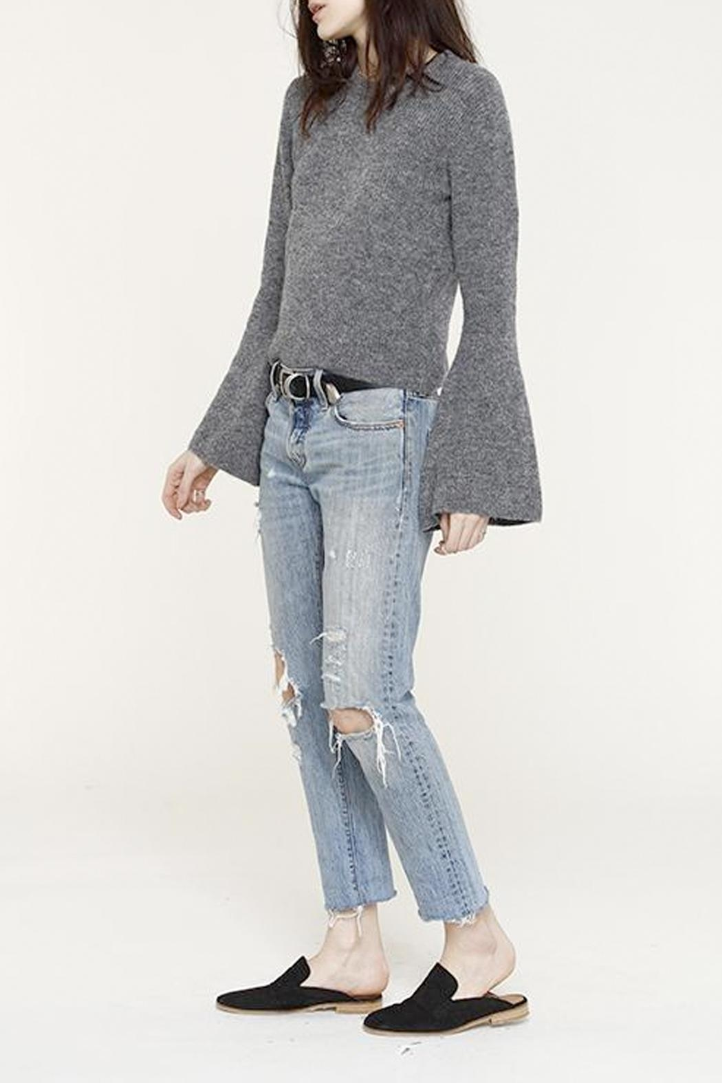 Heartloom Bell Sleeve Sweater - Side Cropped Image