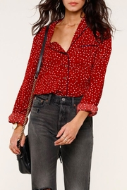 Heartloom Benny Button-Up Blouse - Product Mini Image