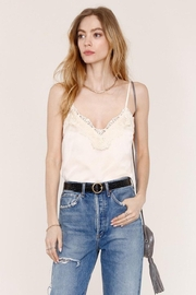 Heartloom Cream Lace Cami - Front cropped
