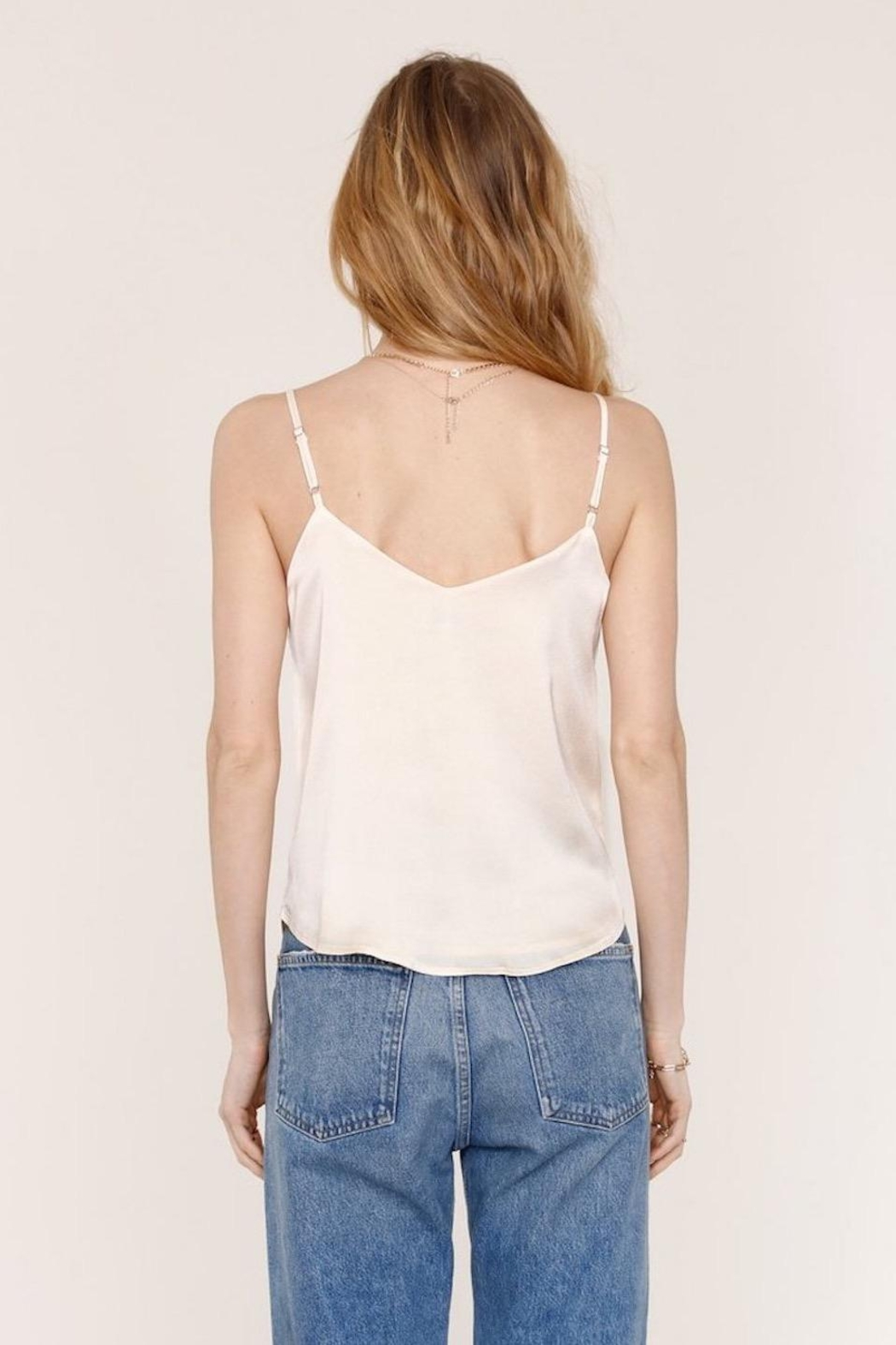 Heartloom Cream Lace Cami - Side Cropped Image