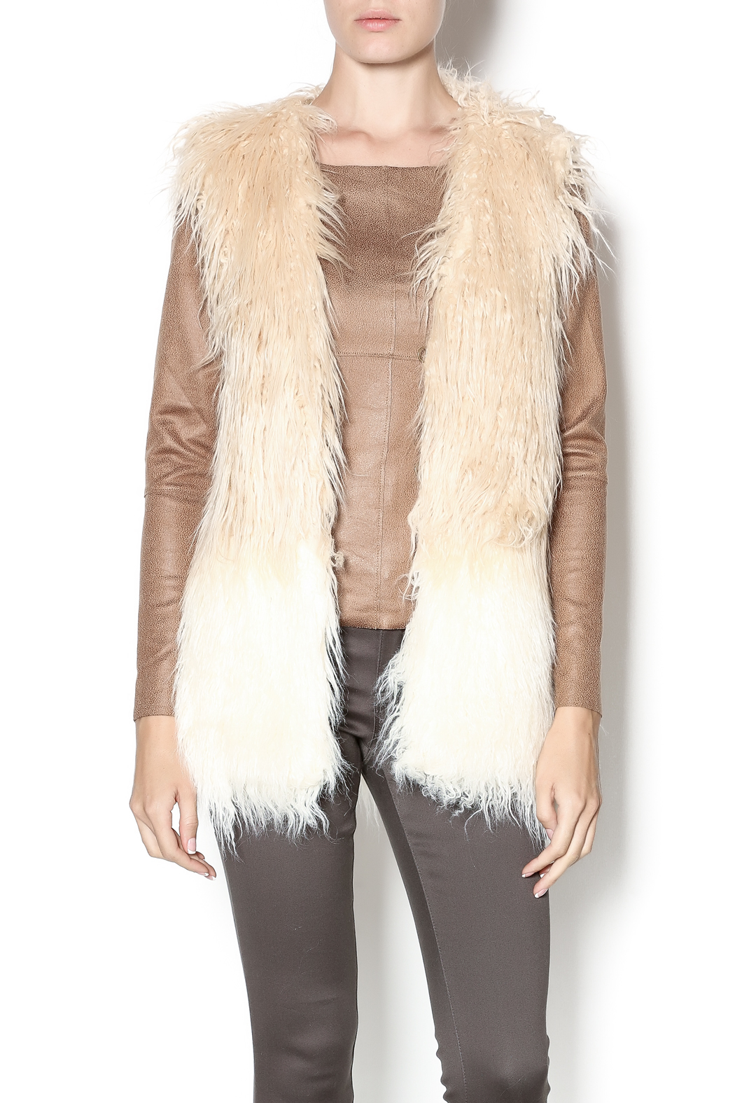 Heartloom Faux Fur Vest From Mississippi By Gypster Veil