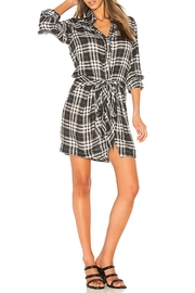 Heartloom Flannel Patterned Dress - Product Mini Image