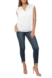 Heartloom Imogen Eyelet Top - Front full body