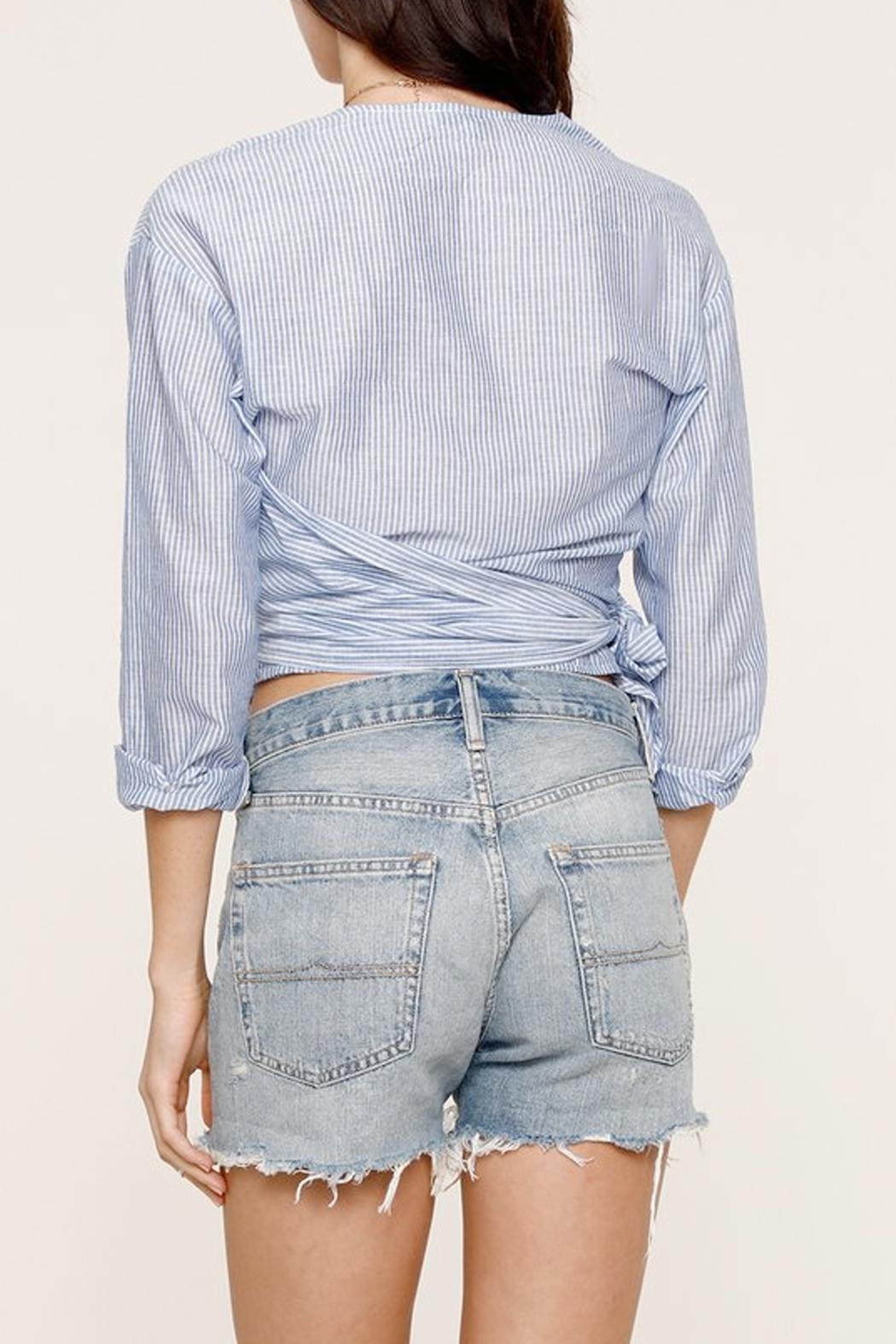 Heartloom Michi Wrap Top - Side Cropped Image