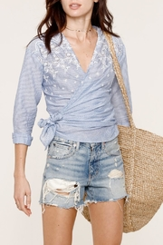 Heartloom Michi Wrap Top - Front full body