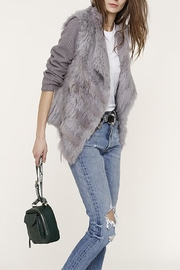 Heartloom Mirae Fur Jacket - Front cropped