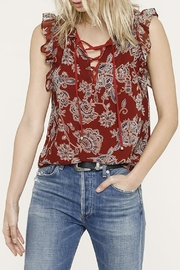 Heartloom Jackie Ruffle Top - Front cropped