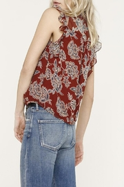 Heartloom Jackie Ruffle Top - Front full body