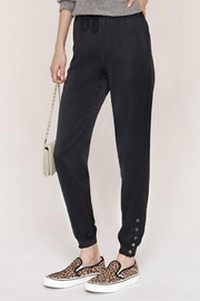 Heartloom Sharon Satin Jogger - Front cropped
