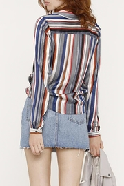 Heartloom Striped Button Up - Front full body