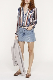 Heartloom Striped Button Up - Side cropped