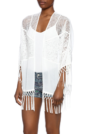 Heartloom White Lace Kimono - Product Mini Image