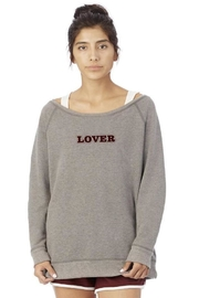 Heartman Lover Grey Sweatshirt - Product Mini Image