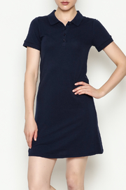 Hearts & Hips Button Down Dress - Front cropped