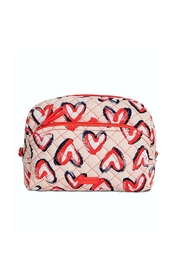 Vera Bradley Hearts Pink Medium-Cosmetic - Product Mini Image